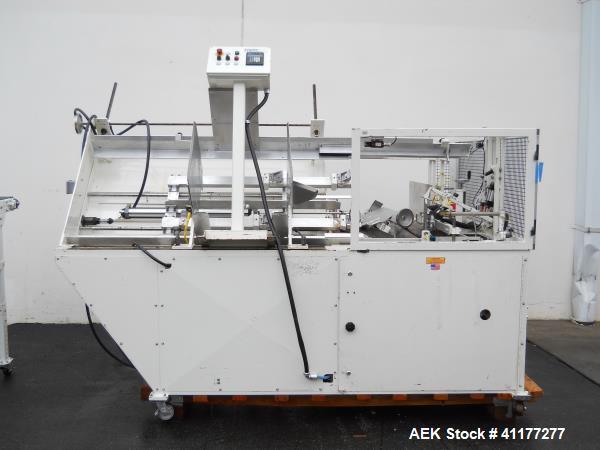 Used- SWF (Loveshaw Padlocker) Automatic Case Erector and Hot Melt Bottom Sealer