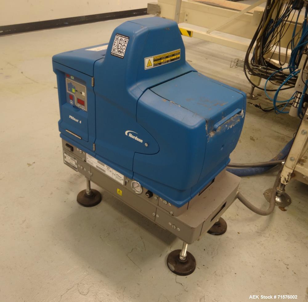 Used- TMG Automated Packaging Model Formec 4 (Gen II) Vertical Carton Erector