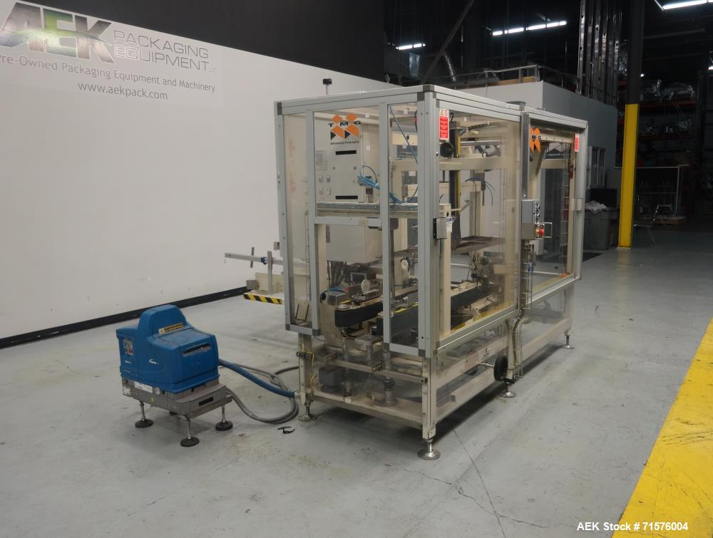 Used- TMG Automated Packaging Model Formec 4 (Gen II) Vertical Case Erector