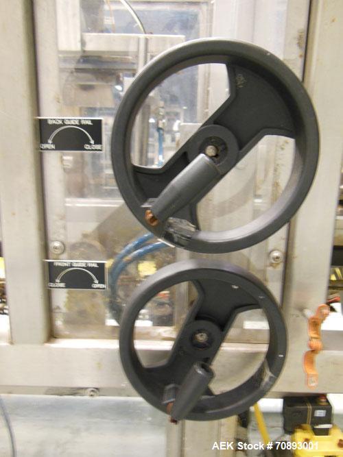 Used- Wepackit Case Erector Bottom (Side) Sealer, Model 300E