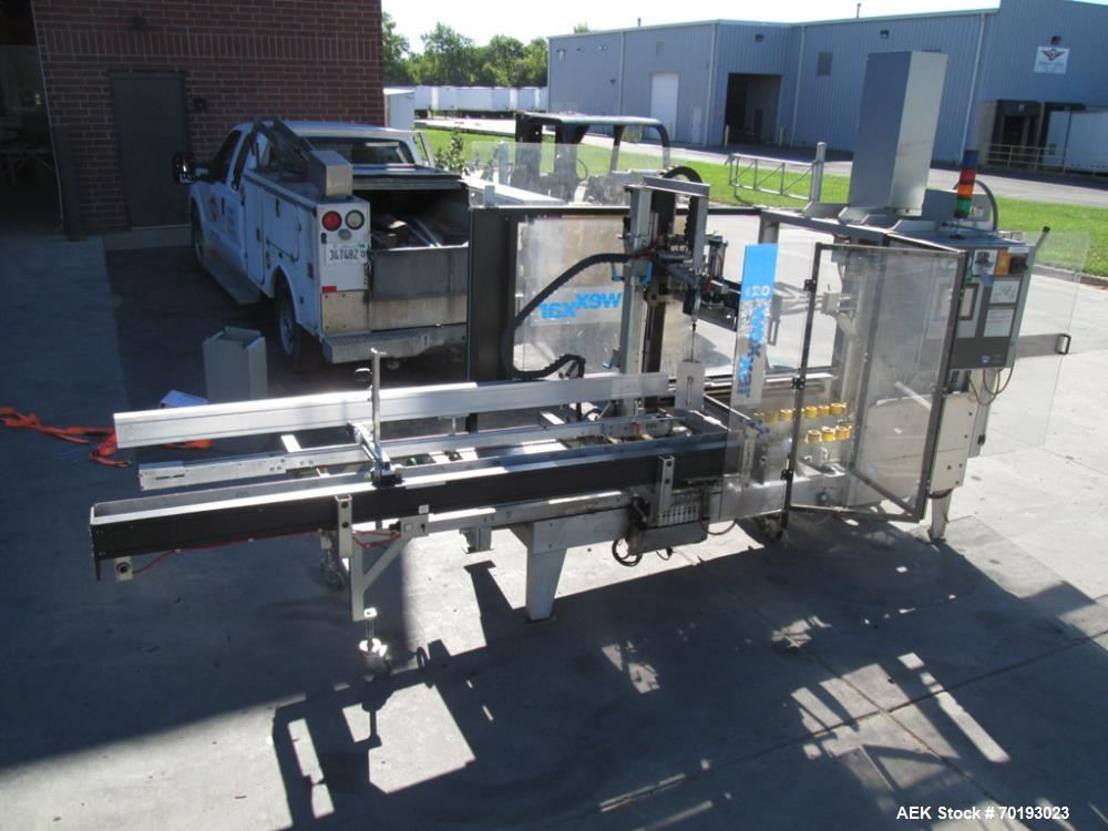 "Used- Wexxar WF-20H Case Erector Bottom Glue. Case size range: (length) 6"" to 24"" (width) 5"" to 17"" (depth, includes flap he..."