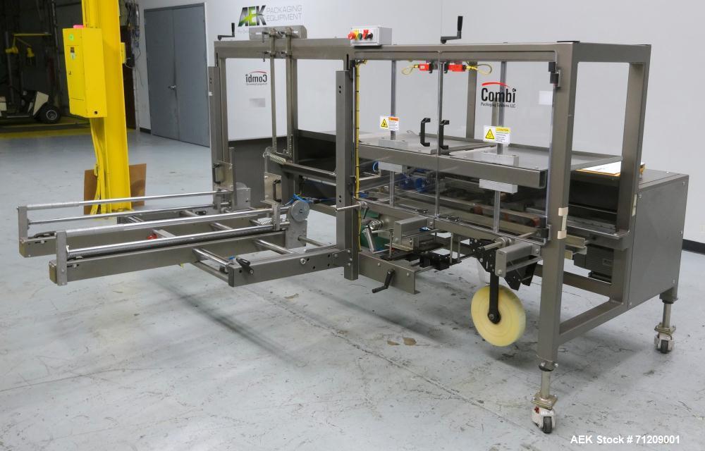 Used- Combi Model 2-EZ RH Plus Case Erector and Bottom Taper