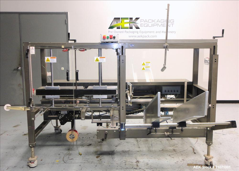Used- Combi Model 2-EZ Case Erector and Bottom Taper. Machine is capable of speeds up to 12 cases per minute. Case size rang...