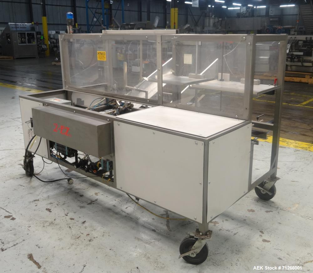 Used- Combi Model 2EZ Case Erector Sealer