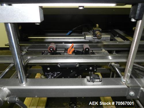Used- Combi Model 2-EZ Plus Case Erector and Bottom Taper. Capable of speeds up to 12 cases per minute. Case size range: len...