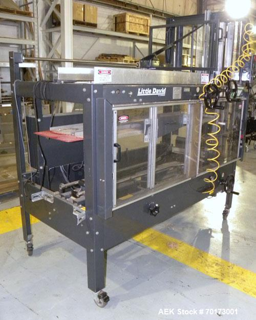 Used- Little David (Loveshaw) CF20T Case Erector and Bottom Taper. Capable of speeds to 4 cases per minute. Small footprint ...