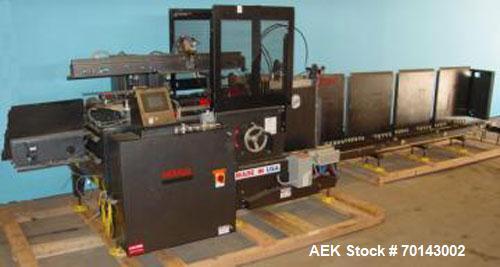 Used-Marq Model HPE-NS(LH) DL Case Erector Bottom Sealer