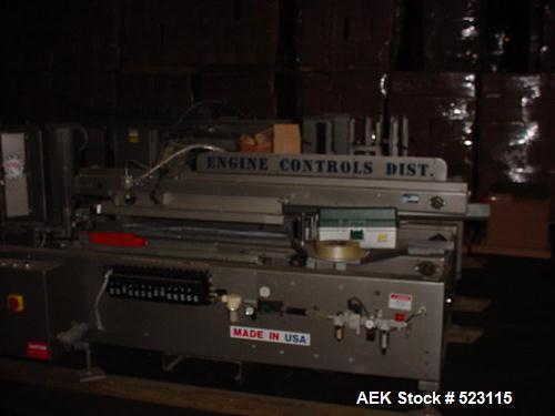 Used- Marq case erector, model HPEMFRHC. High performance erector, medium frame, right hand and Compudrive control. Dekka 2'...