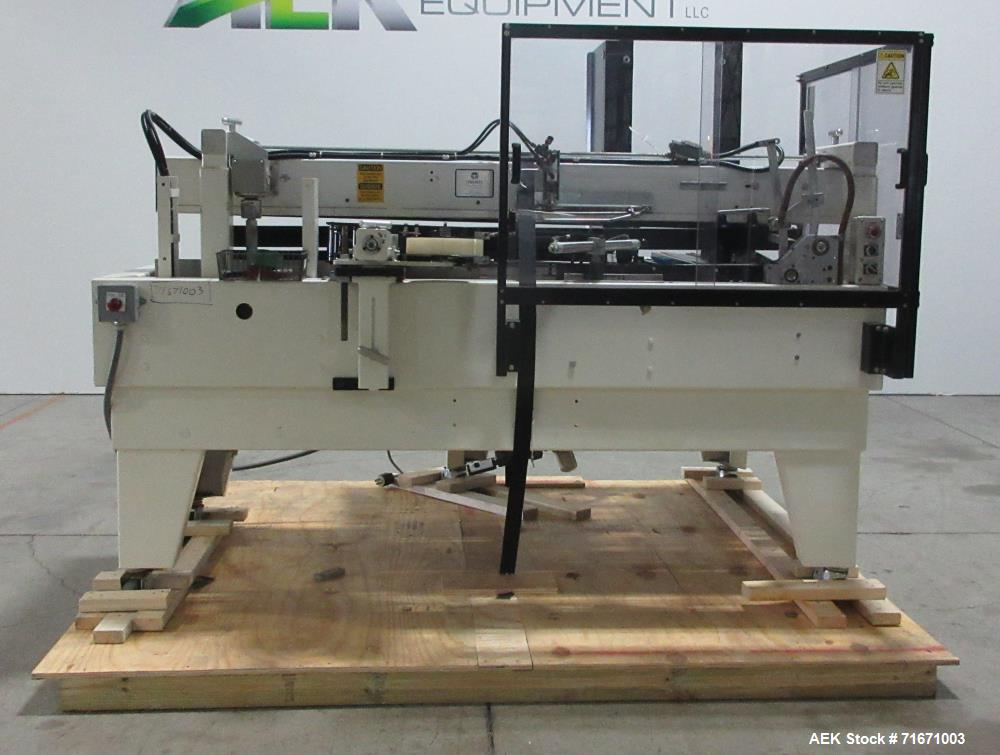 Used- Maxco Model ME-1600 Automatic Case Erector and Bottom Tape Sealer