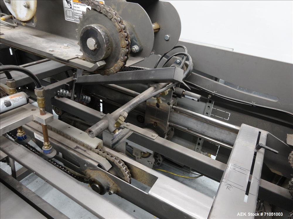 Used- Pearson Model CE35-T Case Erector Bottom Taper
