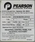 Used- Pearson Model CE35-T Right Handed Case Erector Bottom Taper