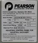Used- Pearson Model CE35-T Case Erector Bottom Taper