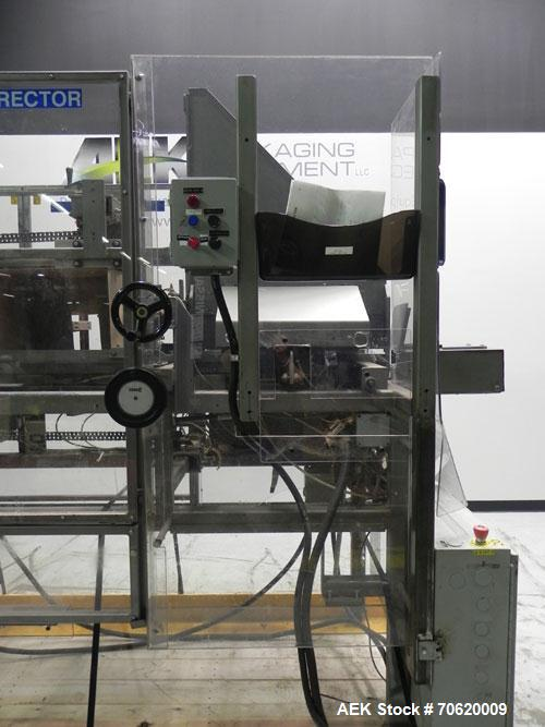 Used- Wepackit Model MPE300 Case Erector Bottom Tape Sealer. Machine is capable of speeds up to 20 cases per minute. Knockdo...