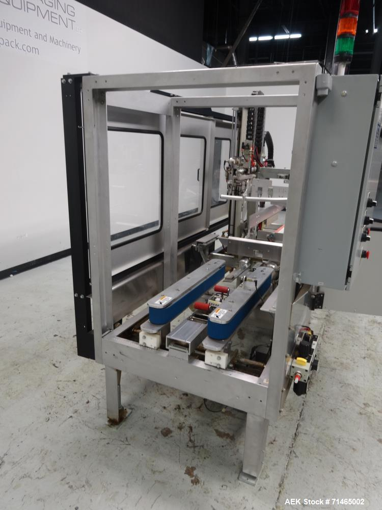 Used- Wexxar Model WF-2TR Automatic Case Erector and Bottom Taper.