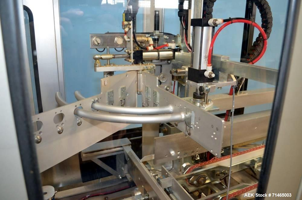 Used- Wexxar Model WF-2TR Automatic Case Erector and Bottom Taper.  Case former is capable of speeds up to 30 cases per minu...