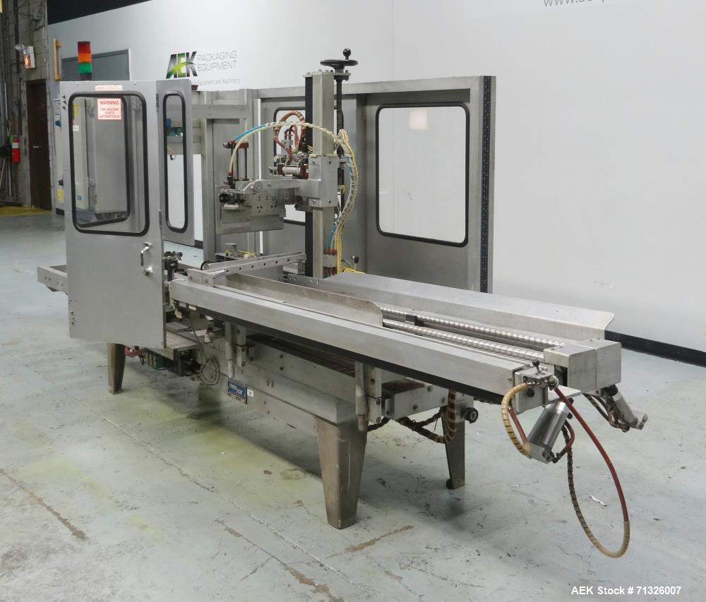 Used- Wexxar Model WFT-JR Automatic Case Erector and Bottom Sealer
