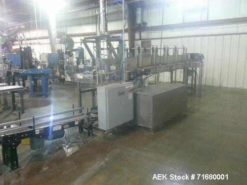 Used- Combi America, Model 2DP Automatic Case Erector and Soft Drop Packer. Capable of speeds from 2 to 10 cases per minute ...