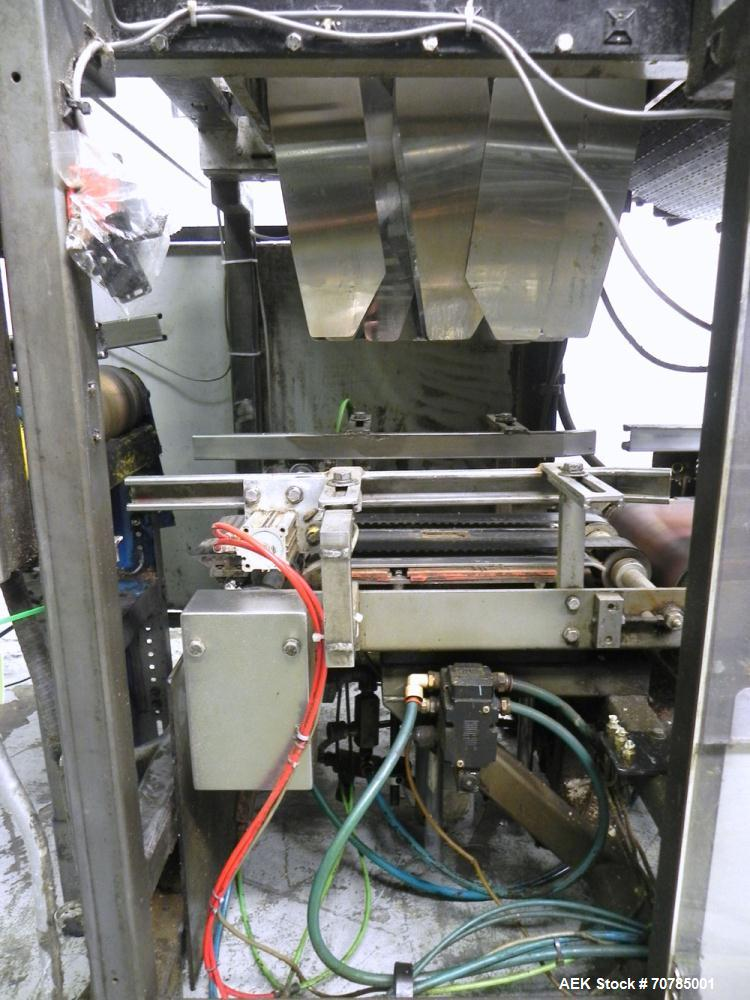 Used- Combi Packaging Systems Model DPI Drop Case Packer. Has a model 2LD128 laner option. Capable of speeds up to 28 cases ...