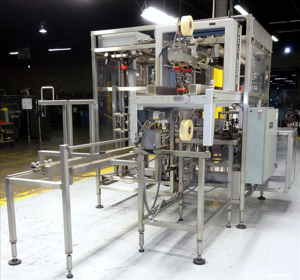 Used- Sabel Model SE-15 Automatic Bottom Load Case Packer System