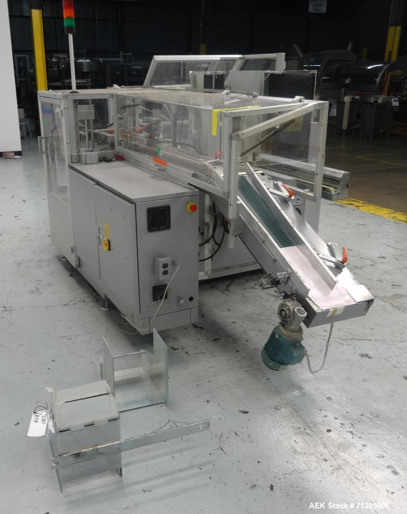 Used- Bergami Model C 97 Automatic Case Erector Packer and Sealer