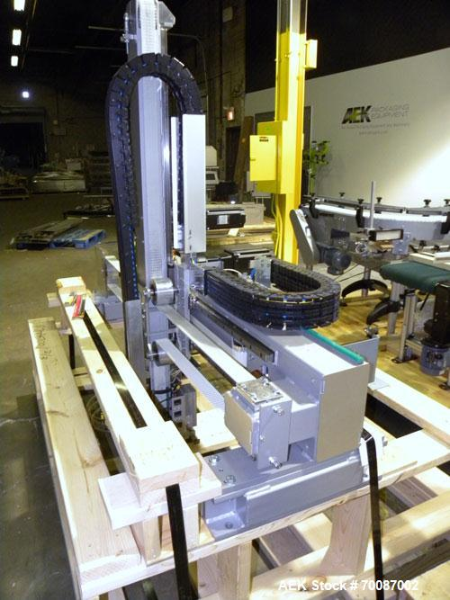 Used- Cermex Sidel Model SD-59 Compact Top Loading Robotic Case Packer