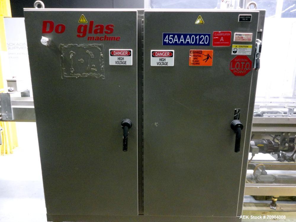 Used- Douglas Machine KDCP-21 Carton Case Packer Erector and Sealer