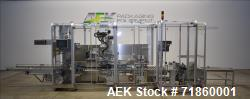 Used- Pester Pharmaceutical Case Packer, Model PEWO-form TLC 2, Machine # 12141A. Output at 2.5-5 cases per minute. Supply v...