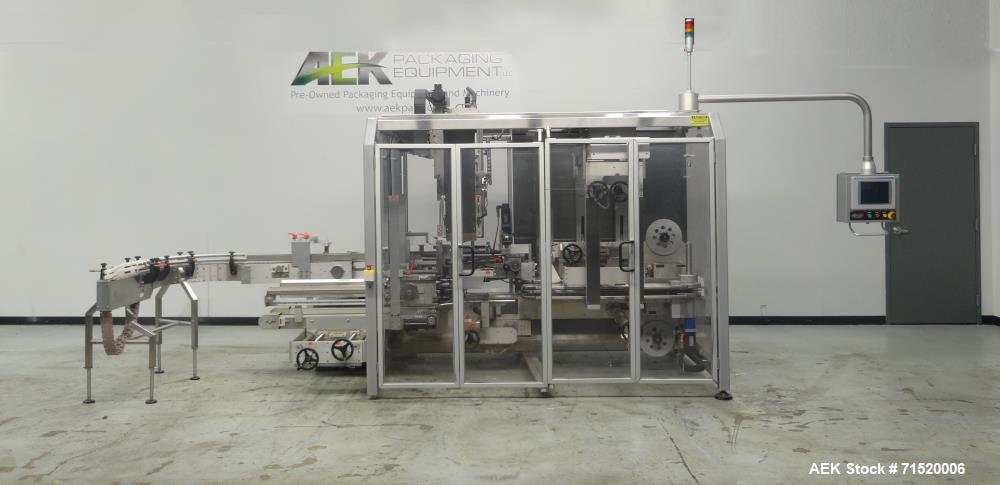 Used- Serpa Model P250LH Top Load Case Packer.