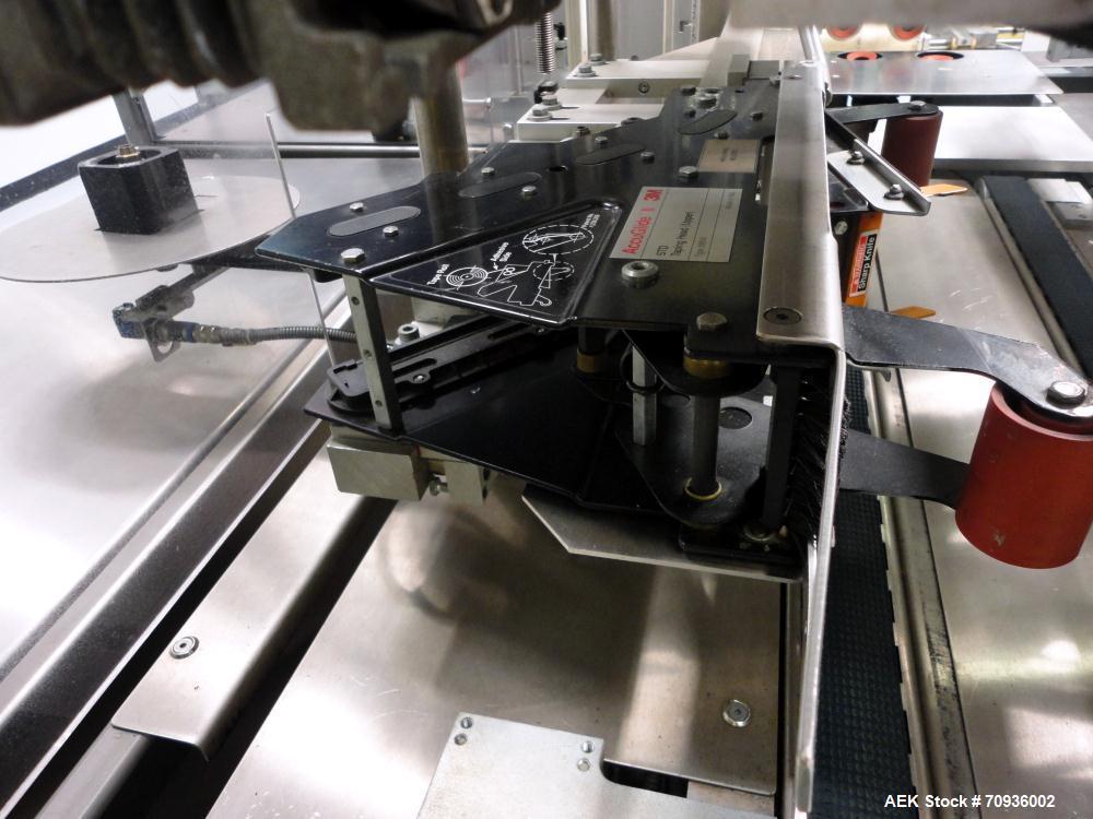 Used- Christ Packaging (Skinetta) Case Packer ,  Model CP145