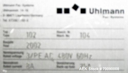 Used- Uhlmann Model E4040 Case Packer.