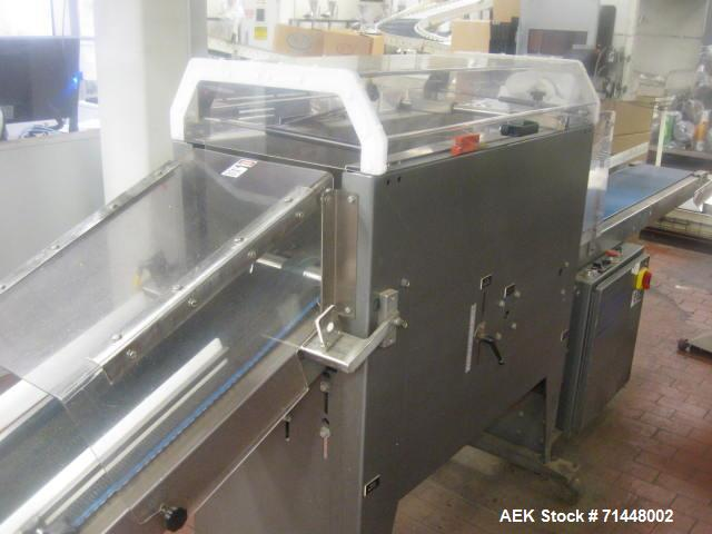 Used-Blueprint Automation Semi-Automatic Bag Collator. Capable of speeds up to 140 bags per minute. Bag size range: Small wh...