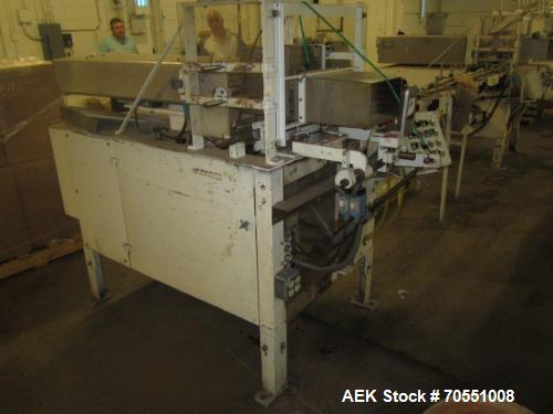 Used-Salwasser Semi-Automatic Case Packer