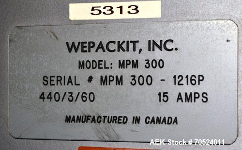 Used- Wepackit Model MPM 300 Case Packer