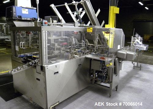 Used- Zepf Technogies (Thiele/Barry Wehmiller) Model SP2 Automatic Case Packer