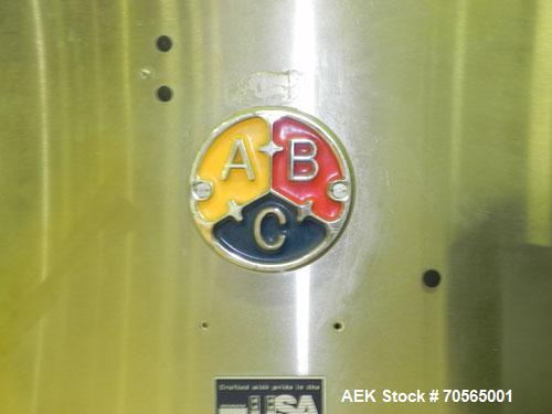 Used- ABC Packaging Machine Corp Model 30A Automatic Top and Bottom Hot Melt C