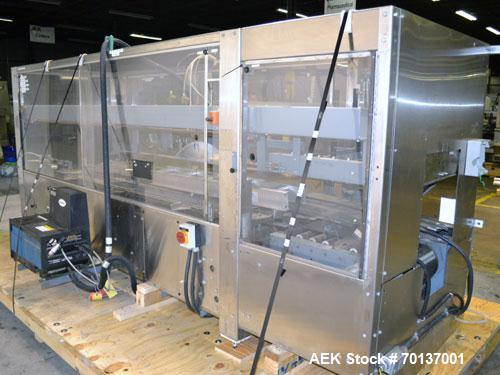 Used- A-B-C Packaging Machine Corp Model 30A Automatic Top and Bottom Hot Melt C
