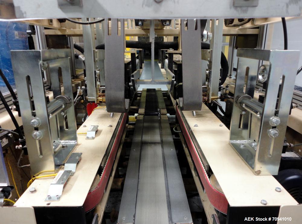 Used- Klippenstein Model K503HM Automatic Hot Melt Bliss Box Case Sealer