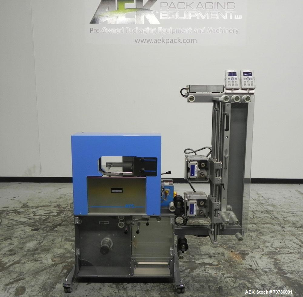 Unused- ATS (Felins) Model US-2100 Wide Format Banding Machine. Machine is capable of speeds up to 25-30 bandings per minute...