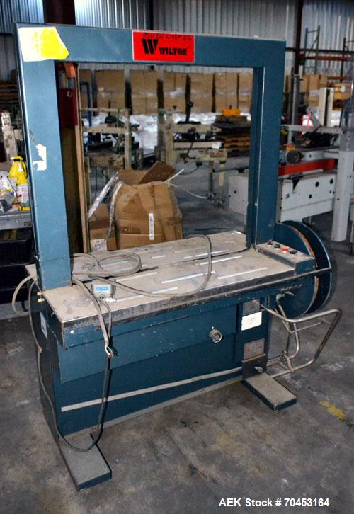 Used- Wilton Automatic Strapping Machine, Model SS-80