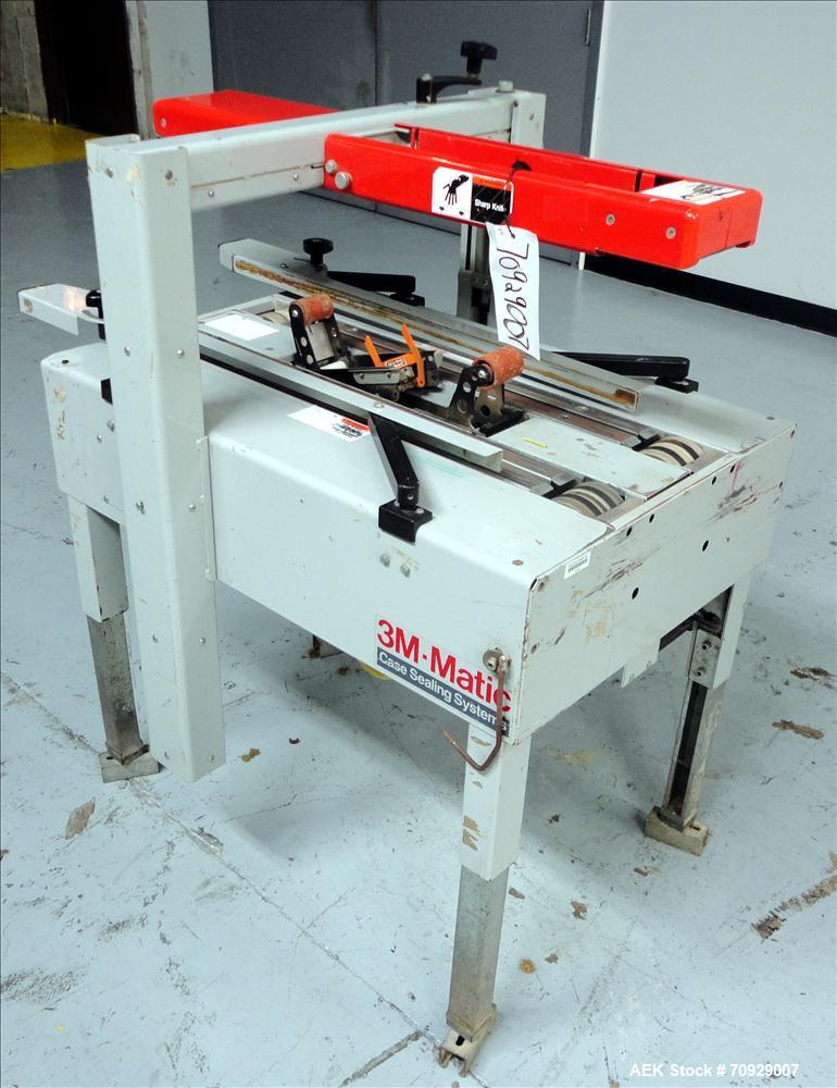 Used-3M-Matic Model 100A Adjustable Case Sealer