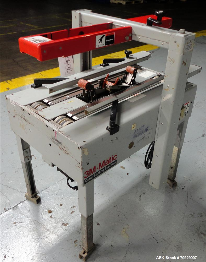 Used-3M-Matic Model 100A Adjustable Case Sealer