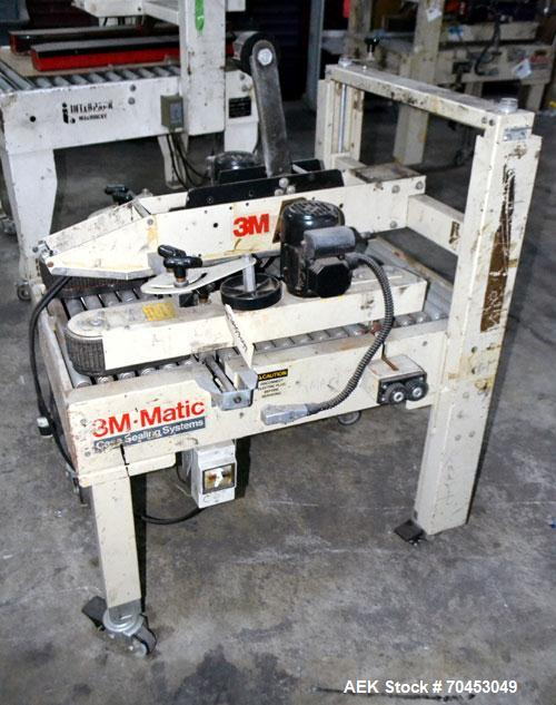 Used- 3M 12A-18600 Semi-Auto Adjustable Top Case Taper capable of speeds up to 27 cpm depending on application and operator ...