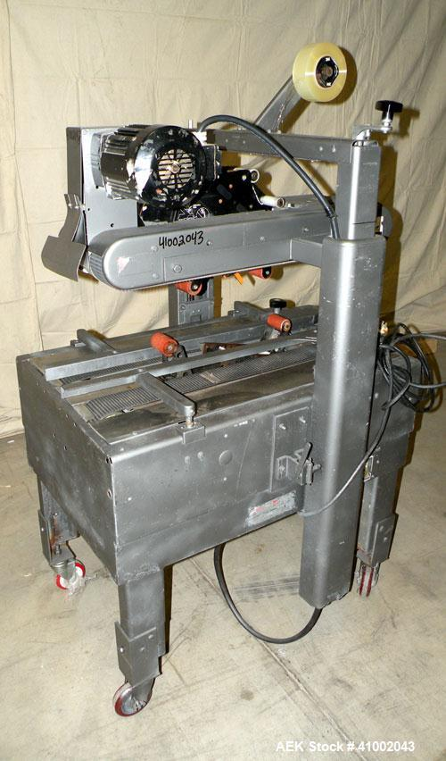 Used-3M-Matic Model 200A top and bottom Adjustable Case Sealer