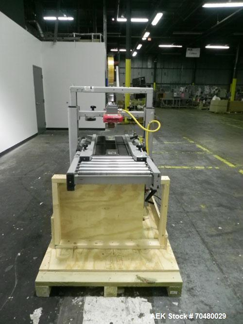 """Used- 3M-Matic Model 200A Top Only Adjustable Case Sealer. Up to 40 cases per minute, minimum case size 6"""" wide x 4.75"""" high..."""