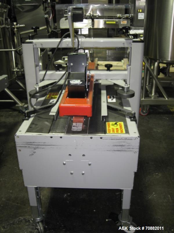 "Used- 3M Model 200A, Type 29200 Top and Bottom Adjustable Case Sealer. Up to 40 cases per minute, minimum case size 6"" wide ..."