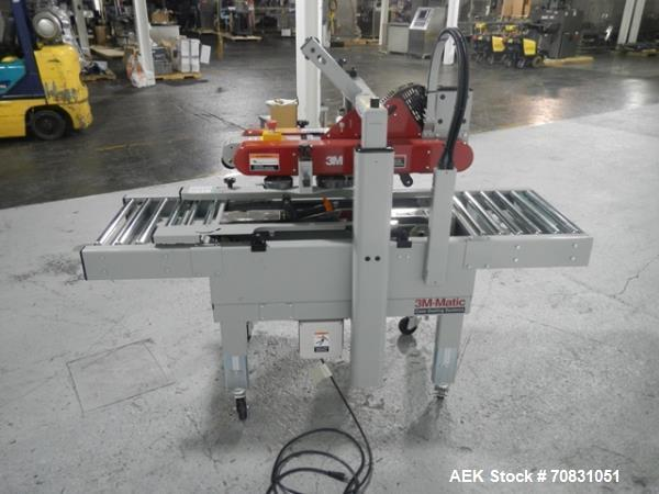 Used- 3M-Matic 700A Top and Bottom Adjustable Case Sealer