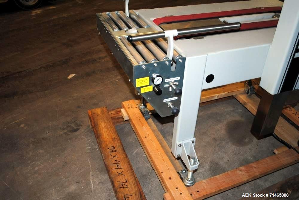 Used- Belcor (Wexxar) Model 185 automatic random top case taper sealer. Capable of speeds up to 20 cases per minute. Has a c...
