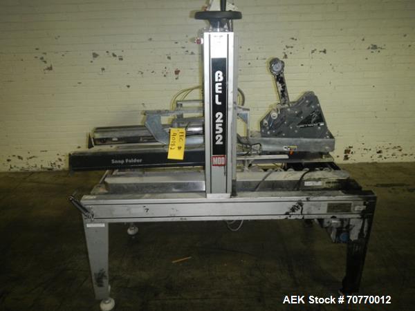 Used-Belcor Model 252 Semi-Automatic Top case Taper