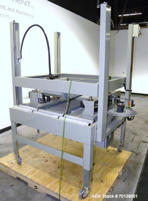 Used- Best Pack Manual Side Sealing Carton Sealer, Model BP-433. Capable of speeds up to 40 cases per minute. Has a case siz...