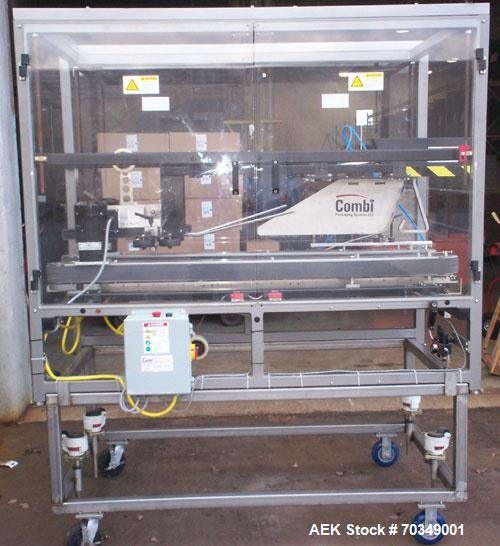 Used-Used: Combi TBS100 FC case sealer. The newly redesigned TBS-100 case sealer is the heavy duty solution for a wide range...